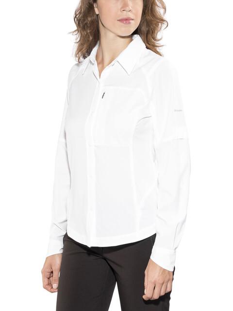 Columbia Silver Ridge Long Sleeve Shirt white